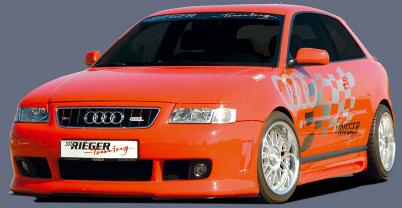 Audi  A3 Styling - Rieger Front Bumper