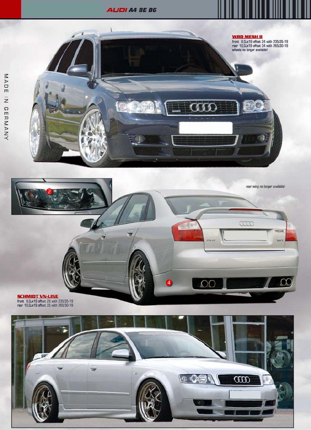 1 a4 b6 Audi