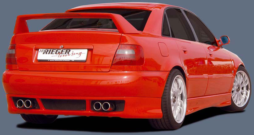Pin Audi A4 B5 Styling Rieger Rs4 Look Front Bumper Flat Side Skirt on ...