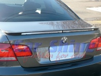BMW - E92 - FACTORY Style Boot Lip Spoiler 1