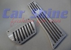 BMW - Sports Carbon Style Grey Pedals Auto