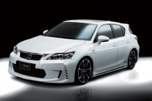 Lexus - CT200h - WALD Black Bison Body Styling 1
