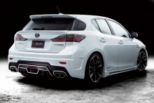 Lexus - CT200h - WALD Black Bison Body Styling 2
