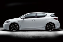 Lexus - CT200h - WALD Black Bison Body Styling 5