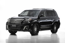 Lexus - LX570 - WALD Black Bison Styling 12on 1