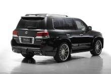 Lexus - LX570 - WALD Black Bison Styling 12on 2