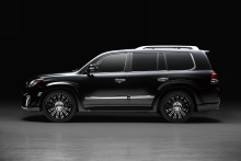 Lexus - LX570 - WALD Black Bison Styling 12on 5