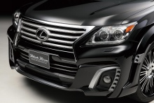Lexus - LX570 - WALD Black Bison Styling 12on 6