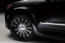 Lexus - LX570 - WALD Black Bison Styling 12on 8