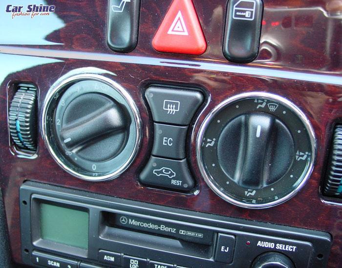 Heater control lights problem | MBClub UK - Bringing