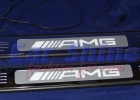 Mercedes - W211 - AMG Style Entrance Sills illuminated 3