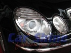 Mercedes - W211 - Chrome Headlight Frames update-look a
