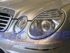 Mercedes - W211 - Chrome Headlight Frames update-look b