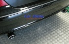 Mercedes - W211 - Chrome Twin Exhaust Tips Value 2