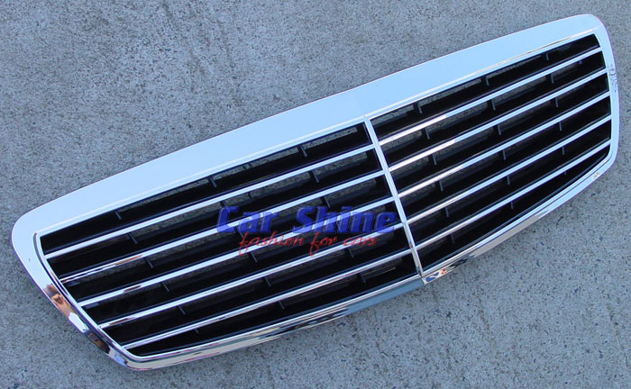 Mercedes - W211 Accessories - Avantgarde Grille Plain