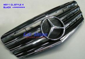 Mercedes - W211 Accessories - CL-STYLE 4 Grille