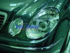 Mercedes - W211 Accessories - Chrome Headlight Frames