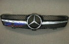 Mercedes - W219 - Update SL-STYLE 1 BAR Grille Black Chrome 2