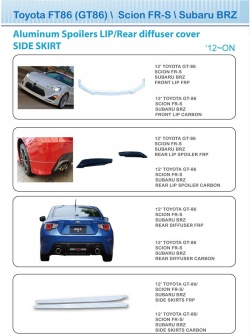 Toyota - GT86 - Accessories P04