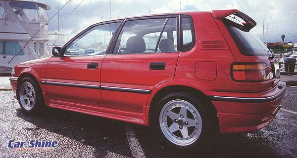 ZENDER COROLLA AE92 (Please note - NO FRONT SPOILERS LEFT, NO REAR