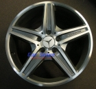 Wheels - Mercedes Style VI Titanium Grey Used Set