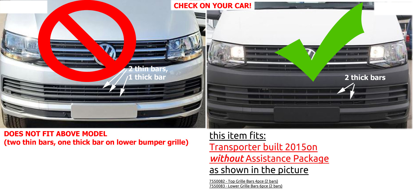 Transporter 2015on without Assist Package