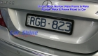Accessories - Number Plate BP Example3