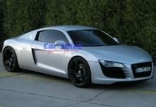 Audi - R8 - Forged Matt Black Wheels 1