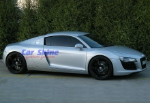 Audi - R8 - Forged Matt Black Wheels 2