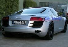 Audi - R8 - Forged Matt Black Wheels 3