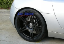 Audi - R8 - Forged Matt Black Wheels 4