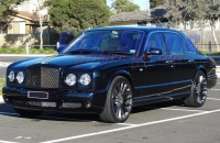 Bentley - Arnage - HRE P21 MONOBLOCK 22X9.0 Wheels 2