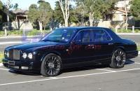 Bentley - Arnage - HRE P21 MONOBLOCK 22X9.0 Wheels 3