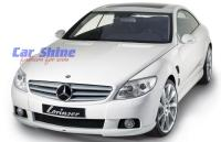 Mercedes - C216 Styling - Lorsiner Complete Styling White front