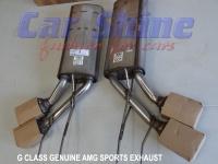 Mercedes - G Class - AMG Sports Exhaust 9