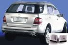 Mercedes - ML-Klass W164 Accessories - Chrome Exhaust Tips