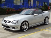 Mercedes - R170 - Rieger Styling 1