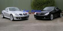 Mercedes - R171 Styling - Lorinser Styling Front Twins