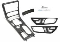 Mercedes - R172 - Carbon Fibre Centre Console set 4pce Auto