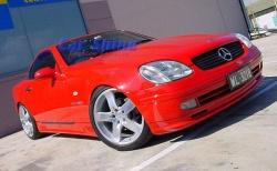 Mercedes - SLK R170 Styling - Lorinser Front Lip Spoiler