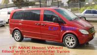 Mercedes - Vito Accessories - MAK Boost 17 Wheels 2 (VITO-1348984)