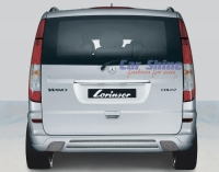 Mercedes - Vito New Styling - Lorinser Rear Body Styling with Exhaust