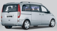 Mercedes - Vito New Styling - Lorinser Rear Right Body Styling