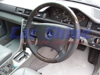 Mercedes - W124 - Blackwood steering wheel