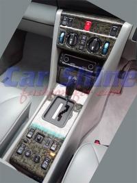 Mercedes - W124 - Centre Console Blackwood
