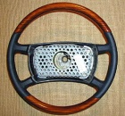 Mercedes - W126 - Zebrano Steering Wheel