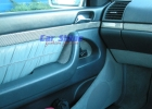Mercedes - W140 - Carbon fibre Front Door Insert Titanium 1