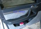 Mercedes - W140 - Carbon fibre Front Door Insert Titanium