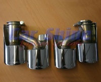 Mercedes - W164 - AMG Chrome Exhaust Tips Genuine 2