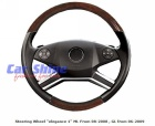 Mercedes - W164 - Schatz Walnut Black Leather Elegance1 Steering Wheel